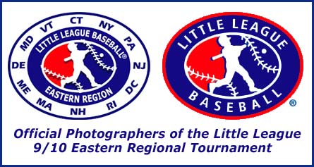 Teamphoto shots photography is the Official 9/10 Eastern Regional Little League Tournament